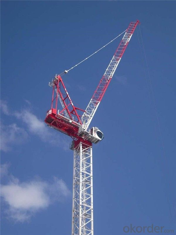 Tower Cranes Luffing Self-raising Electric QTZ80-CE