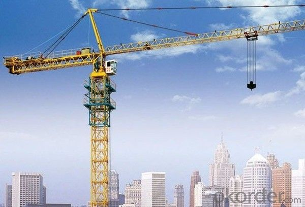 Tower Cranes self climbing grove QTZ160(7030)
