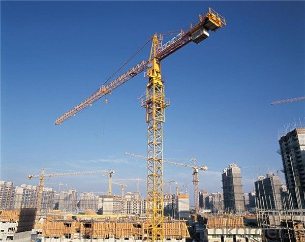 Tower Cranes self climbing grove QTZ63(5010)