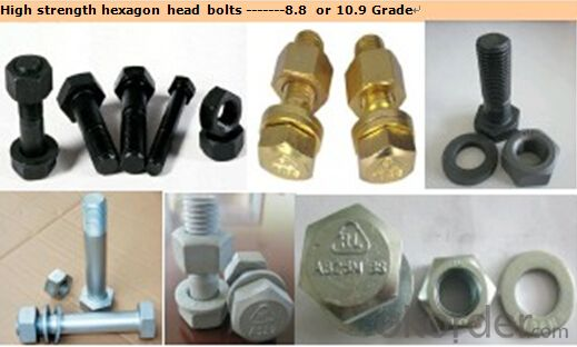 Hexagon Head Welding Stud for Steel Construction