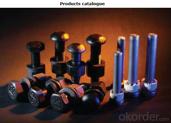 Welding Studs and Ceramic Ferrule for Steel Construction