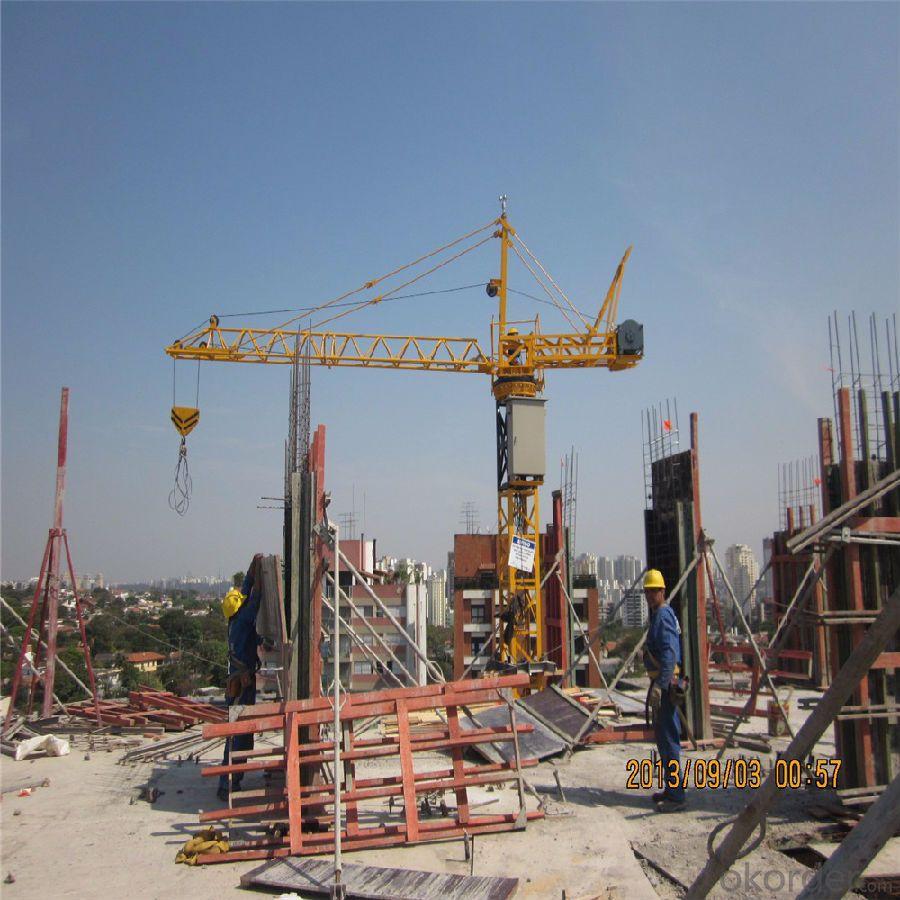 Tower Cranes self-ascending Hammer Head QTZ125( 6015)