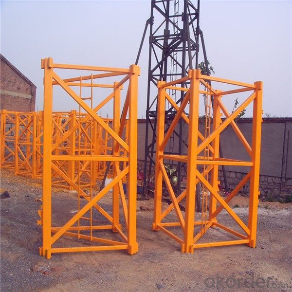 Tower Cranes Reliable Quality Favorable Price QZT50