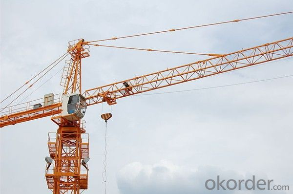 Tower Cranes High Efficiency Self Raising QTZ125