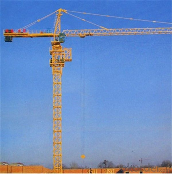 Tower Cranes Model Self Raising Electric in high capacity QTZ40