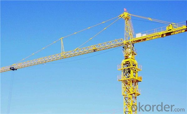 Tower Cranes self-ascending hammerhead QTZ160(6516)
