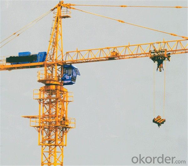 Tower Cranes Self Climbing with High Efficiency QTZ160