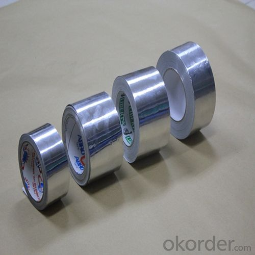 Aluminum Foil Tape with White Release Paper T-1801SP