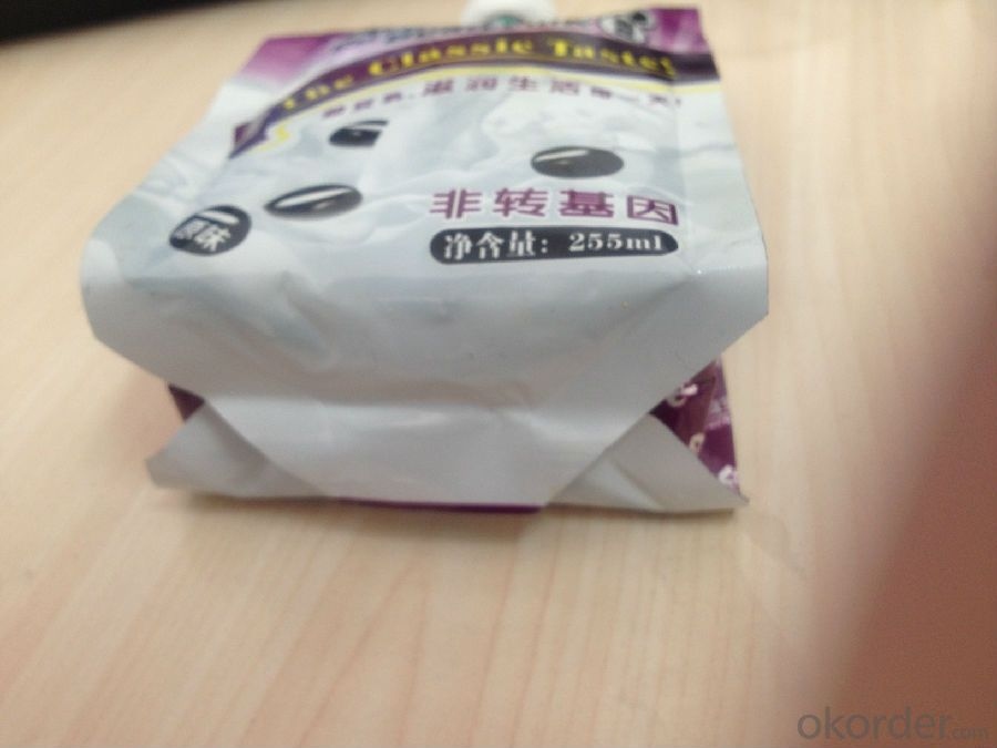 Stand Up Spout Laminated Bag for Beverage packing
