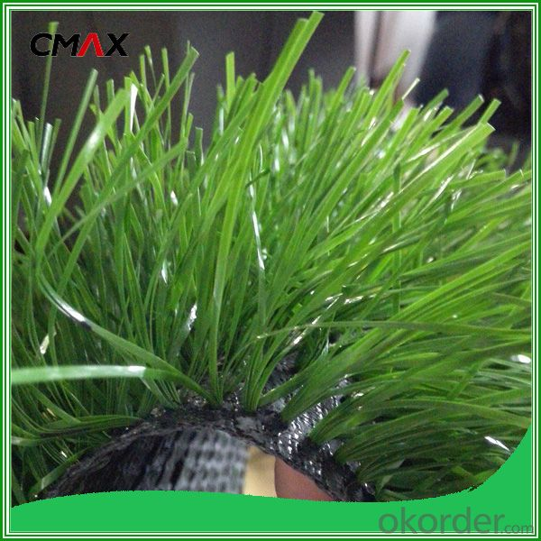 Plastic Grass Mat Green Footballs Synthetic Turf  USD6.17/M2