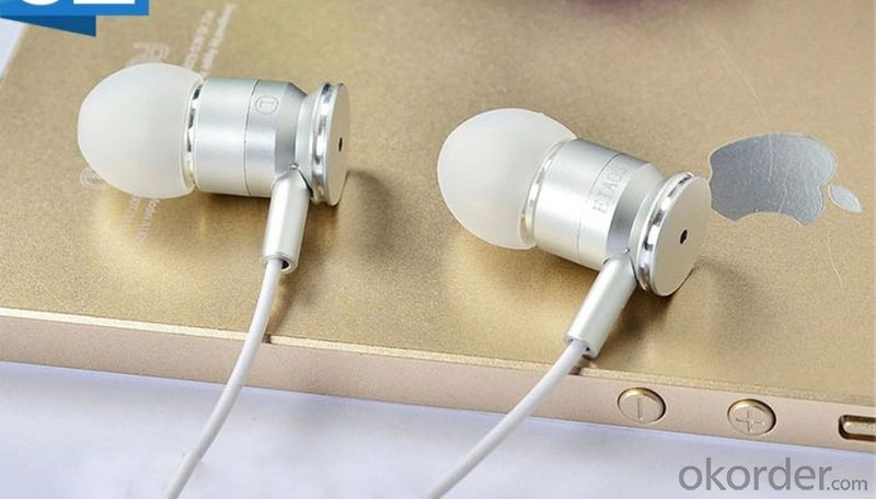 Stereo Headset Metal Earphone Diamond Headset