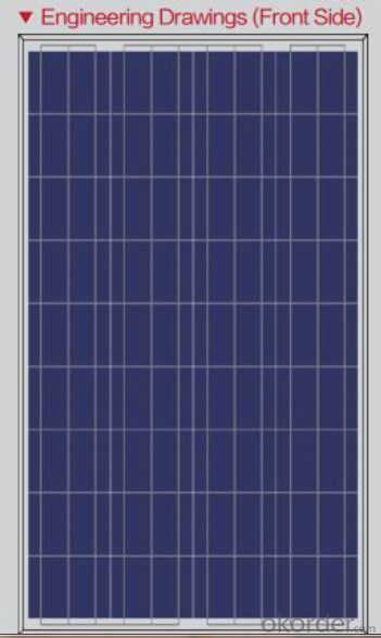 Polycrystalline Solar Panels-130W-Apply to Small Solar System
