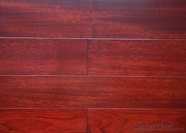 Yongsen Classic Red Oak Color Antique Ecological Solid  Wood Floor