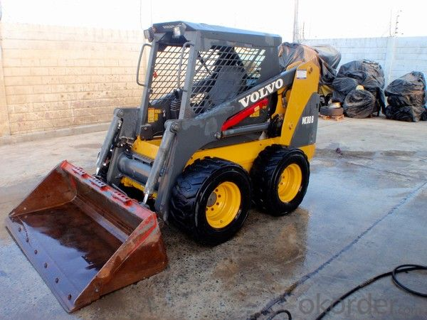 Wheel Loader  Articulated Mini (HQ908) with Snow Shovel
