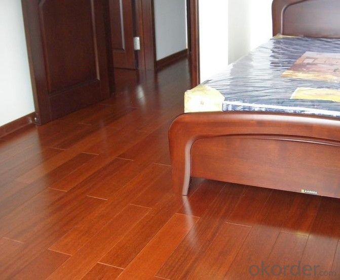 Yongsen Small Grid Light (Pometia pinnata)Solid Wood Floor