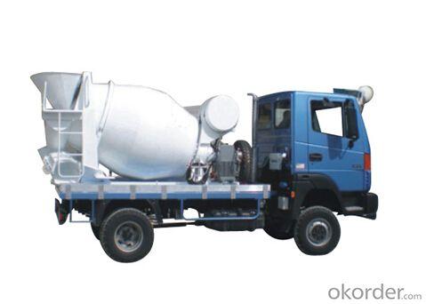 Small CS4/6Y  Concrete Mixer Truck Drum