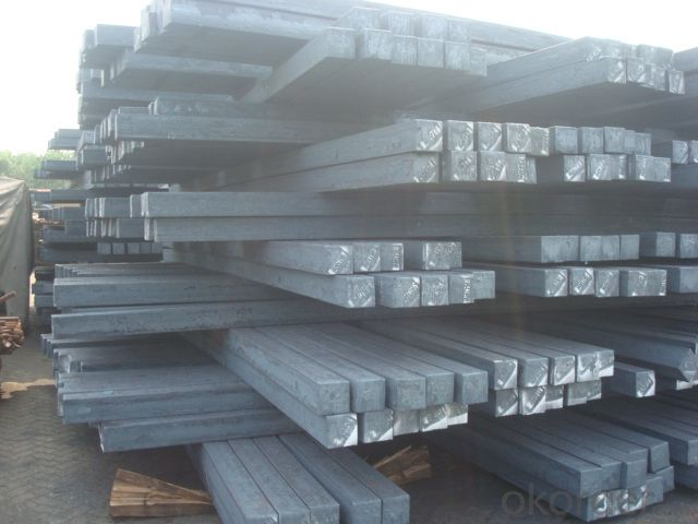 Steel Bloom Manufactured by Big Blast Furnace