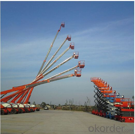 Self-Propelled Telescopic Boom Lifts GTBZ18S & GTBZ20S