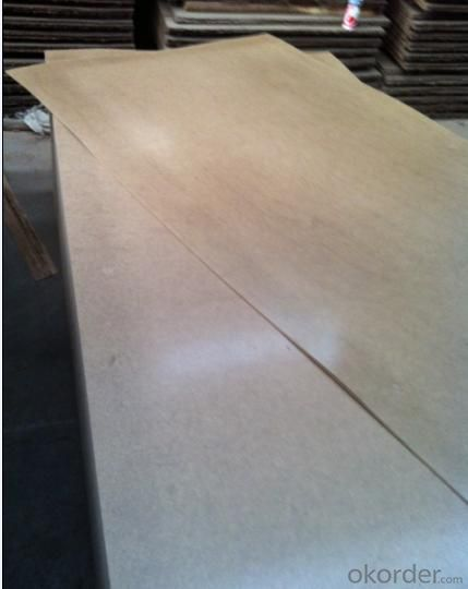 One Side Light  and Bright Raw Fibre Hardboard