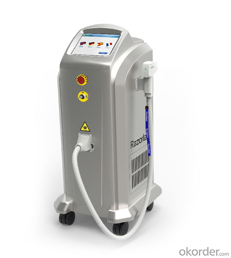 Best Laser Hair Removal Machine TUV Medical CE Approved Quality
