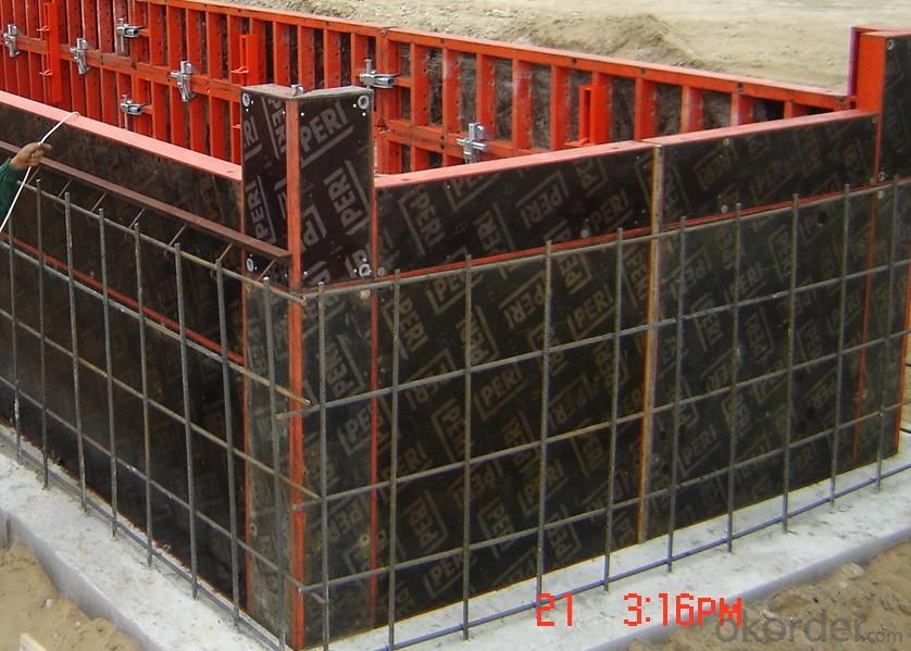 film faced plywood for construction with combi core and poplar core