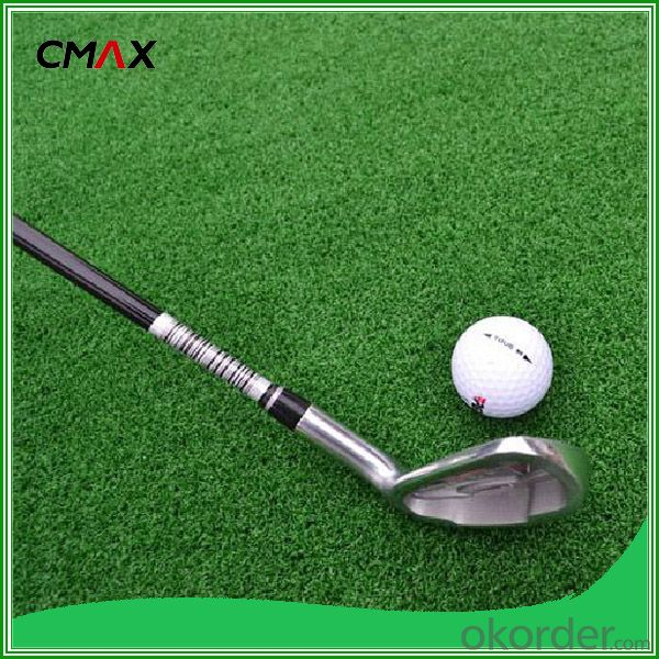 Golf Field Artificial Turf, PE PP Garden Grass
