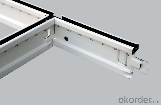 Ceiling T  Grid / T Bar  for  Mineral Fiber Ceiling
