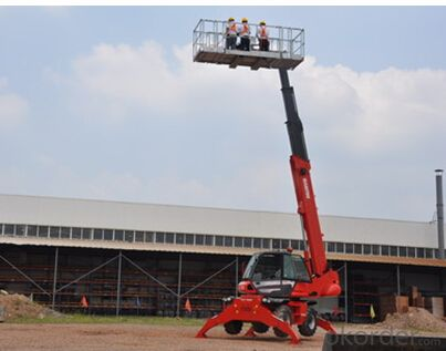 Specification of Self-Propelled Telescopic Boom Lifts GTBZ32S & GTBZ34S