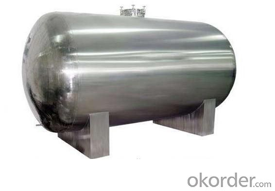 Diesel Oil Storage Tank on High Technology