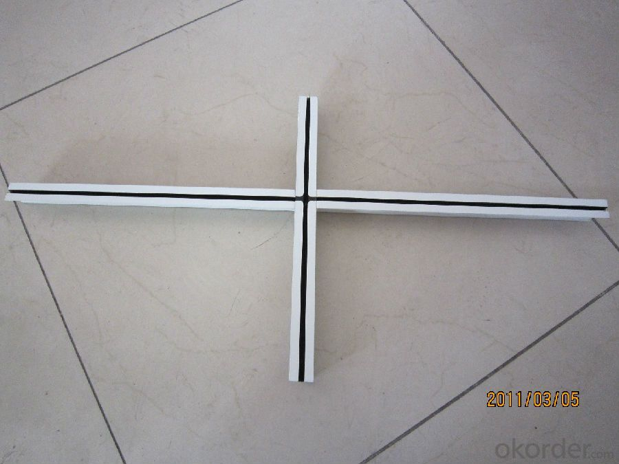 T- Bar Suspended Ceiling Grid   for  Mineral Fiber Ceiling