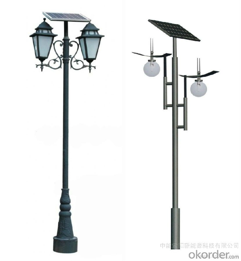 Solar street lamps solar street light environmental friendly, cost saving, 2WT