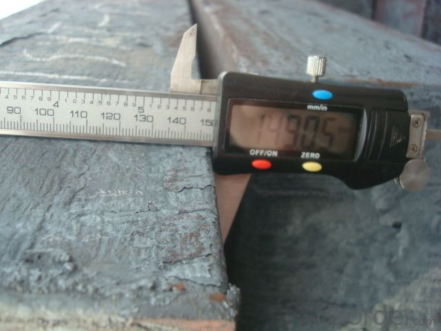 Square Steel Billets 70mm 100mm 130mm 150mm 3SP