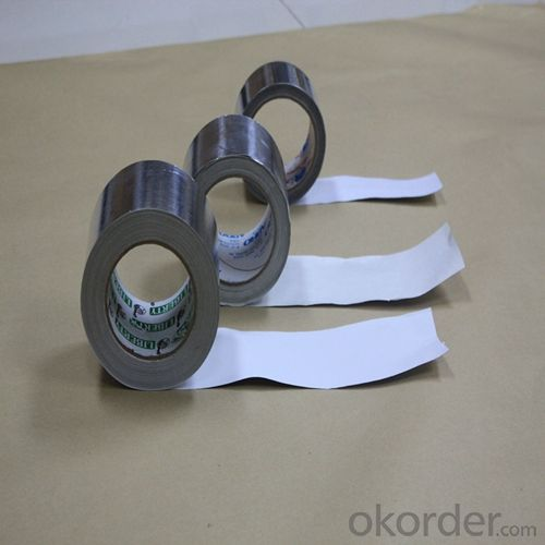 Aluminum Foil Tape with Solvent Based Acrylic Adhesive