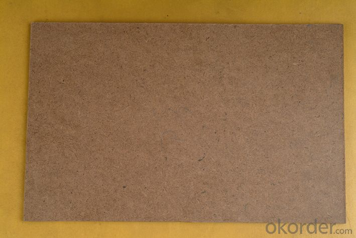 Raw Fibre Hardboard with Density of 950kgs/m3