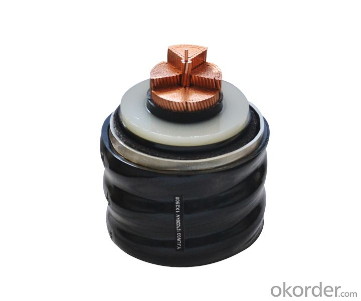 XLPE INSULATED PVC SHEATHED POWER CABLE RATED VOLTAGE UP TO 35KV