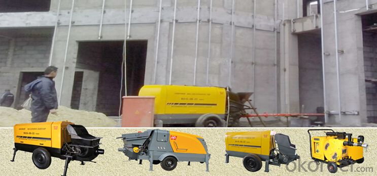 High Performance Wet Concrete Shotcrete Pump