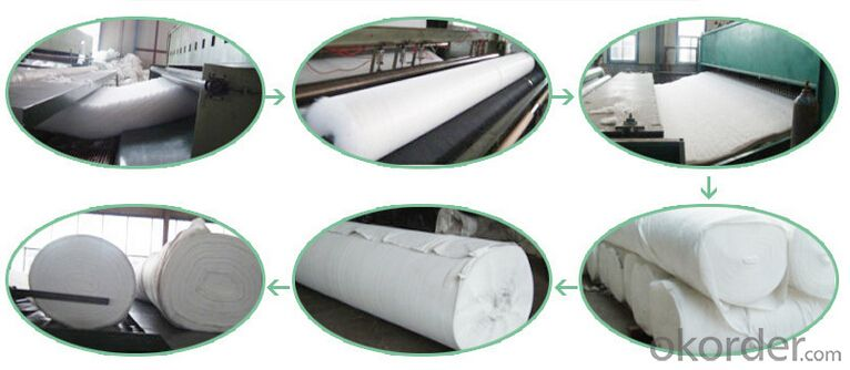 Geotextile Woven Construction Material High Strength