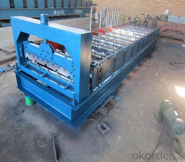 Steel Tile Roll Forming Machine with CE&ISO