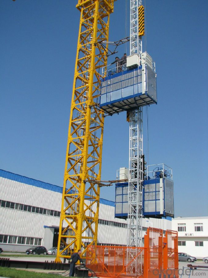 Building Construction Elevator Easy Operated High Quality Passenger Hoist CE-SC200/200