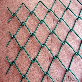 Chain Link Fence Galvanized Wire Mesh PVC High Quality Low Carbon Steel Wire