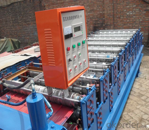 SteelTileRollFormingMachine with CE,SGS,ISO