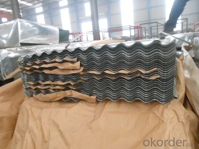 Corrugated Hot-Dipped Galvanized Steel-Sheets