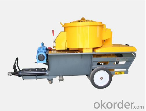JP60-L Small Mortar Plastering Machine