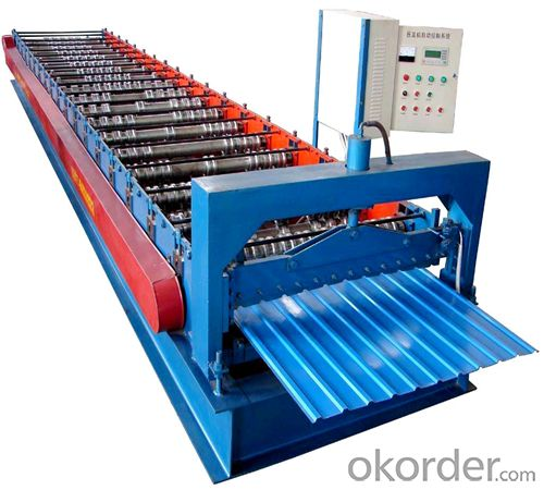 Steel Tile Roll Forming Machine in Good Price