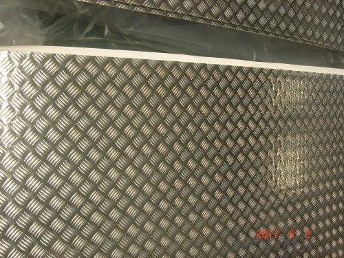 ALUMINIUM PLATE / SHEET WITH STUCCO EMBOSSED