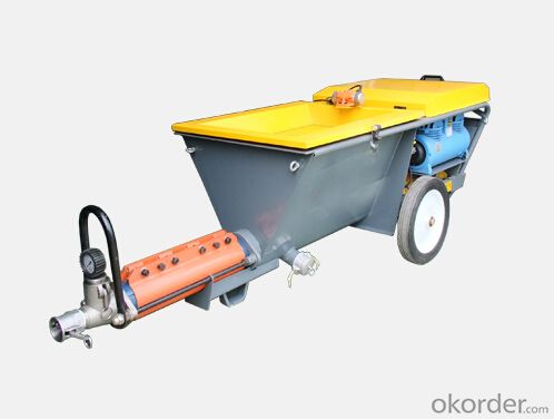 Large Output Volume Mortar Plastering Machine for Sale