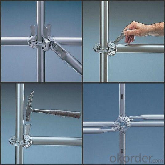 Q345 Ringlock system ledger / Horizontal / Runner/Ringlock Scaffolding System