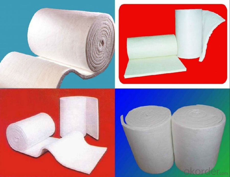 Ceramic Fiber Blanket with Corrosion Resistance