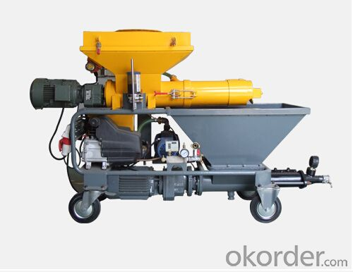 JP40W  Diesel  Mortar Pump Machine for Spraying
