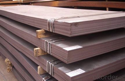 Hot Rolled Steel Plate for Shipbuilding Pipeling Good Quality
